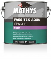 Fassitek Aqua Opaque Satin WIT