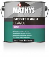 Fassitek Aqua Opaque Satin WIT