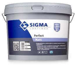 Sigma Perfect Matt Wit*/Kleur