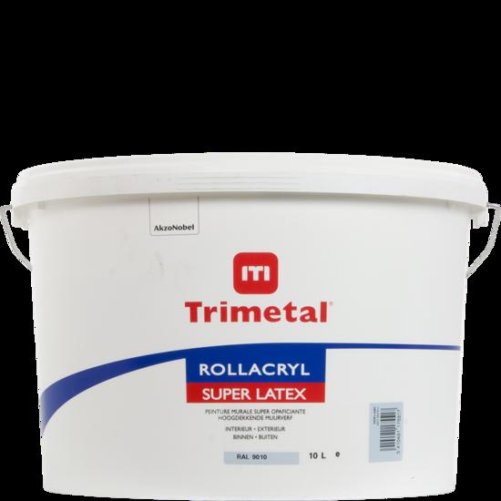 Trimetal Rollacryl Superlatex 001 - Wit 10L