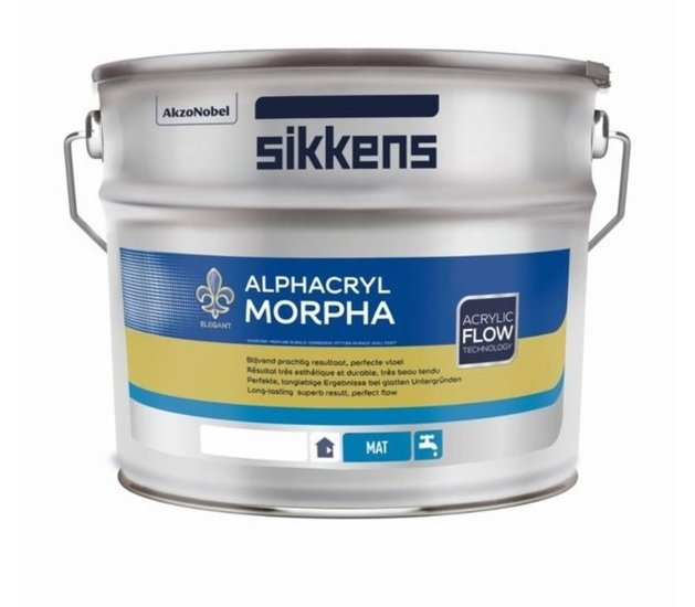 Sikkens Alphacryl Morpha WIT/RAL9010/RAL9016