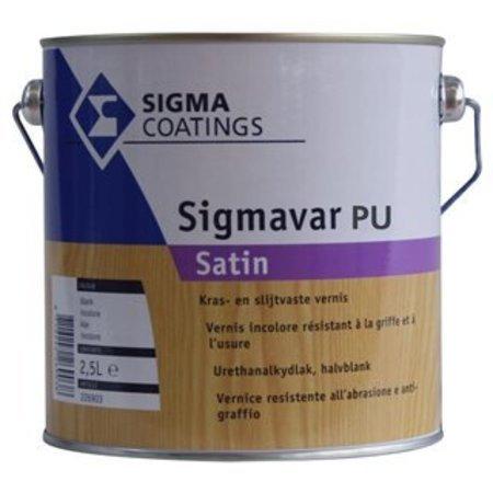 Sigmavar Pu Satin Kleurloos
