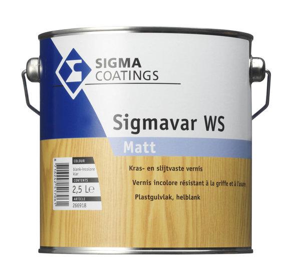 Sigmavar WS Matt Kleurloos