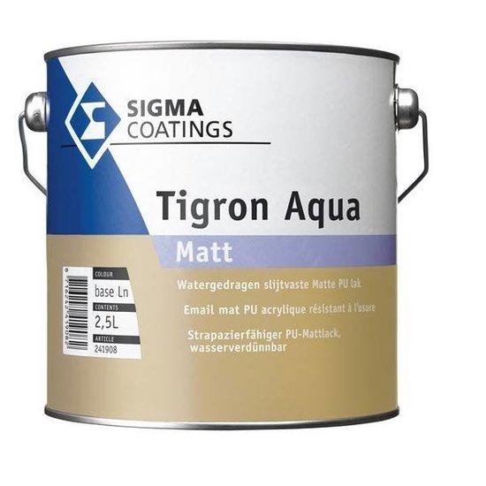 Sigma Tigron Aqua Matt Kleur