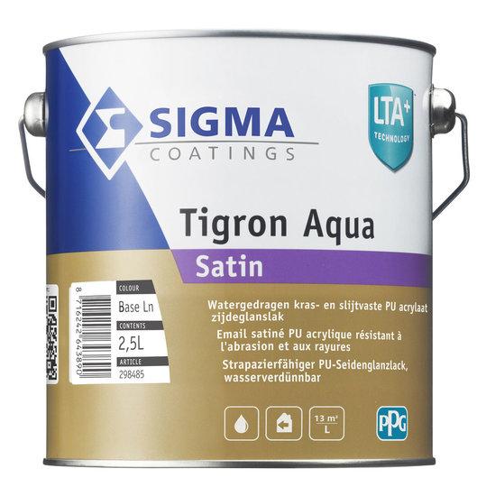 Sigma Tigron Aqua Satin Wit